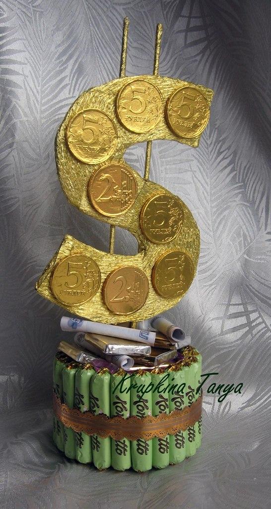 Доллар из конфет своими руками 105